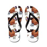 Boys basketball Flip Flops