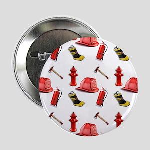 "I Love Firemen 2.25"" Button"