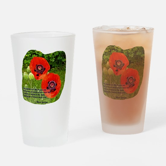 Cute Marine red friday support my marine Drinking Glass