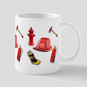 I Love Firemen Mugs