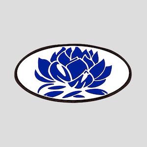No Mud No Lotus Blue Patch