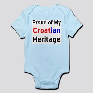 croatian heritage Infant Bodysuit