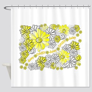 Opsie Daisy Design Shower Curtain