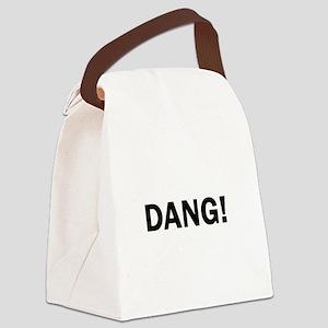 Dang Bold Funny Cute Darn Canvas Lunch Bag