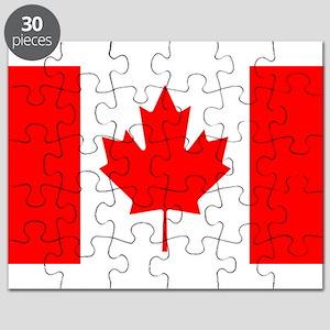 canada-flag Puzzle