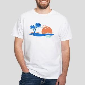 Cancun White T-Shirt