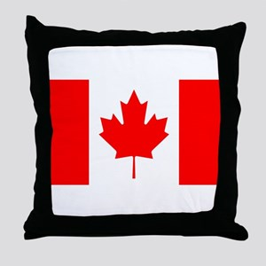 canada-flag Throw Pillow