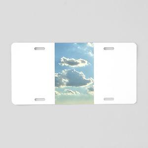 Celestial Dreaming 4Martha Aluminum License Plate