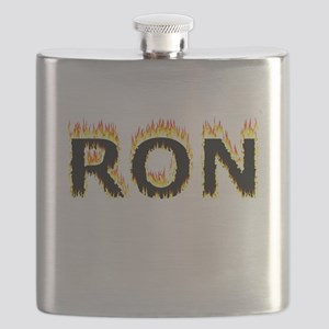 Ron (Flames) Flask