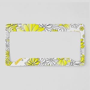 Oopsie Daisy Design License Plate Holder