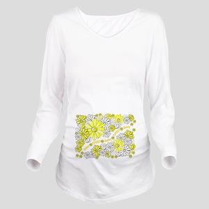 Oopsie Daisy Long Sleeve Maternity T-Shirt