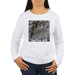 Real Bear Track Women's Long Sleeve T-Shirt
