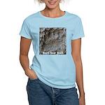 Real Bear Track Women's Light T-Shirt