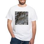 Real Bear Track White T-Shirt