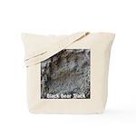 Real Bear Track Tote Bag