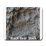 Real Bear Track Mousepad