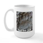 Real Bear Track Large Mug