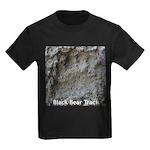 Real Bear Track Kids Dark T-Shirt