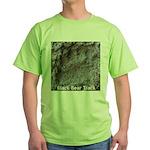 Real Bear Track Green T-Shirt