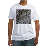 Real Bear Track Fitted T-Shirt