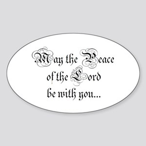 ...and also with you. Rectangle Sticker