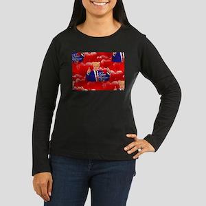 valentines day donald trump Long Sleeve T-Shirt