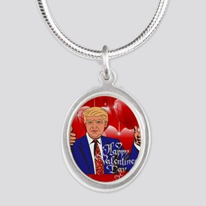 valentines day donald trump Necklaces