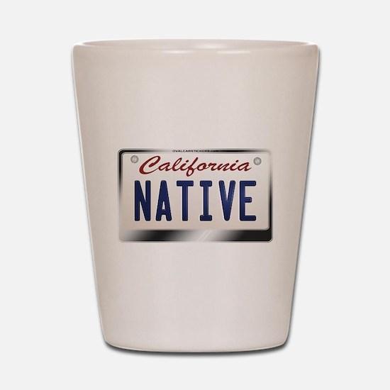 california_licenseplates-native2.png Shot Glass