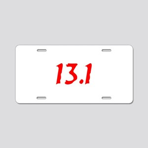 13.1 Aluminum License Plate