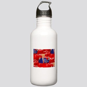 valentines day donald Stainless Water Bottle 1.0L