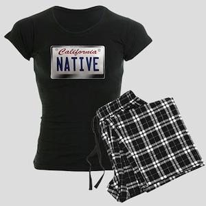 california_licenseplates-native2 Pajamas