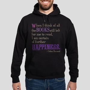 Book Quote Certain Happiness Sweatshirt