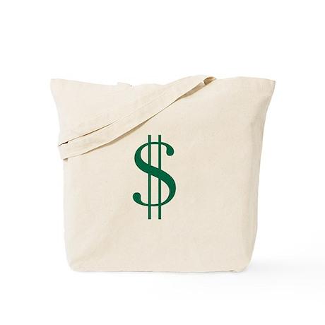 Cartoon Style Dollar Bag