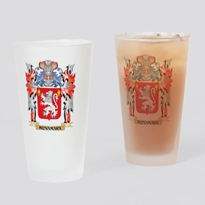 Mcnamara Coat of Arms - Family Cres Drinking Glass