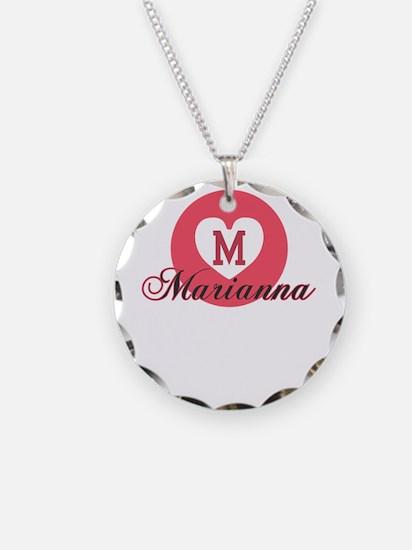 marianna Necklace Circle Charm