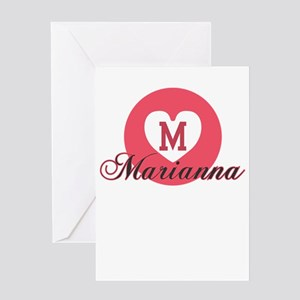 marianna Greeting Cards