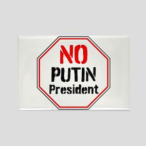 No putin president, never Trump Magnets
