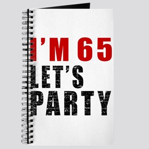I Am 65 Let Is Party Journal