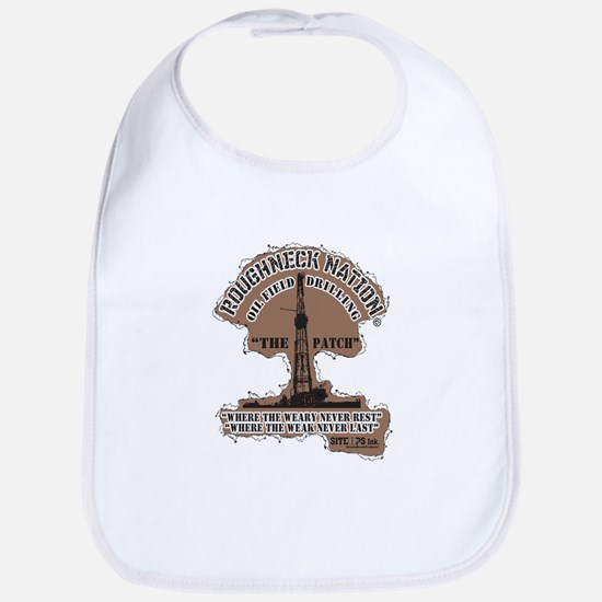 THE PATCH OILFIELD DRILLING Baby Bib