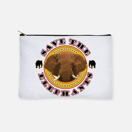 Save the Elephants Makeup Bag