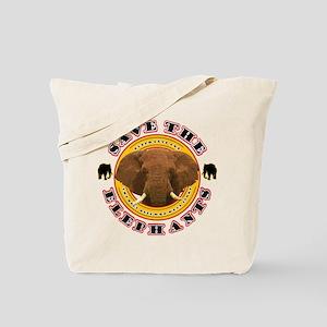 Save the Elephants Tote Bag