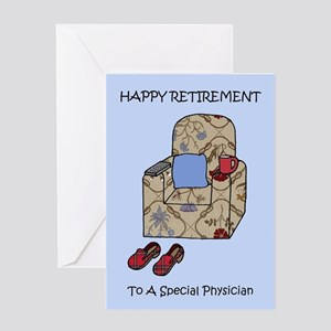 Physician Happy Retirement Greeting Cards