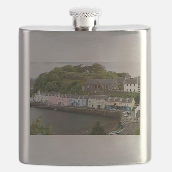 Portree, Isle of Skye, Scotland Flask