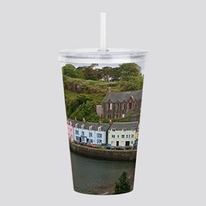 Portree, Isle of Skye, Acrylic Double-wall Tumbler