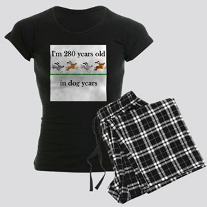 40 birthday dog years 1 Pajamas