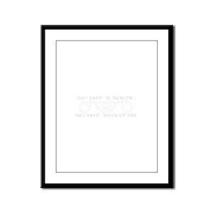 Friends in Jail Framed Panel Print