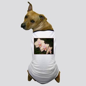 Pink Orchid, tropical flower photo Dog T-Shirt