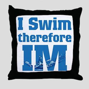 Swim Im Throw Pillow
