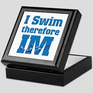 Swim Im Keepsake Box