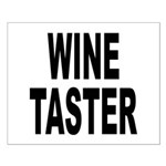 Wine Taster Small Poster